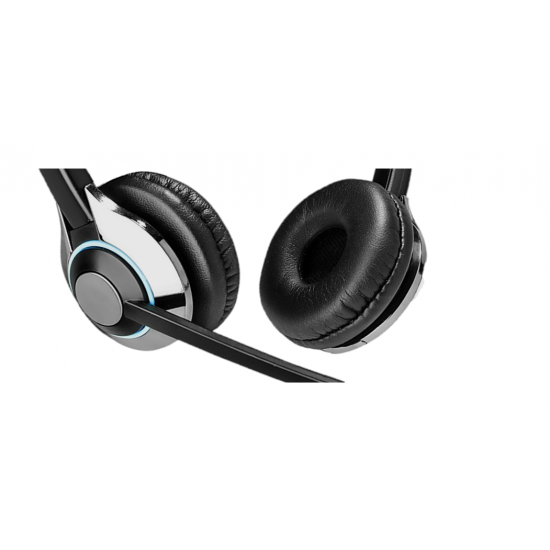TruVoice HD-550 Binaural Noise Canceling Headset Including QD Cable for Digium / Sangoma Phones