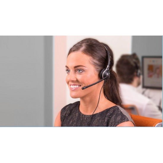 TruVoice HD-700 Monaural NC Headset With USB Adapter