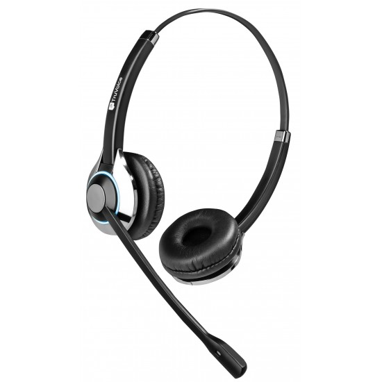 TruVoice HD-550 Binaural Noise Canceling Headset Including USB Adapter Cable