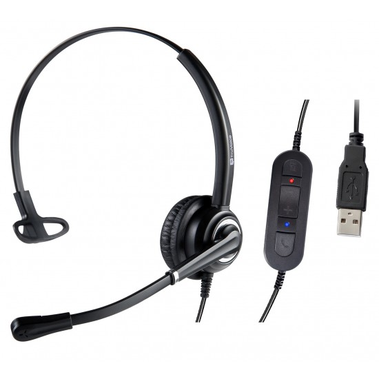 TruVoice W830 Webcam and Voicepro 10 USB headset Combo
